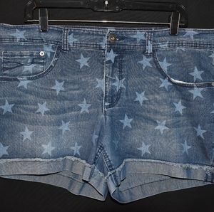 Cute Jean shorts with stars